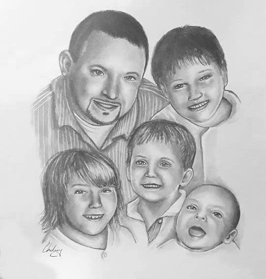 Finished Family Portrait