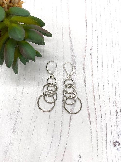 Bubbles Sterling Silver Earrings