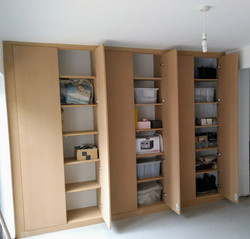 Lounge cupboard (MDF incl. shelves)