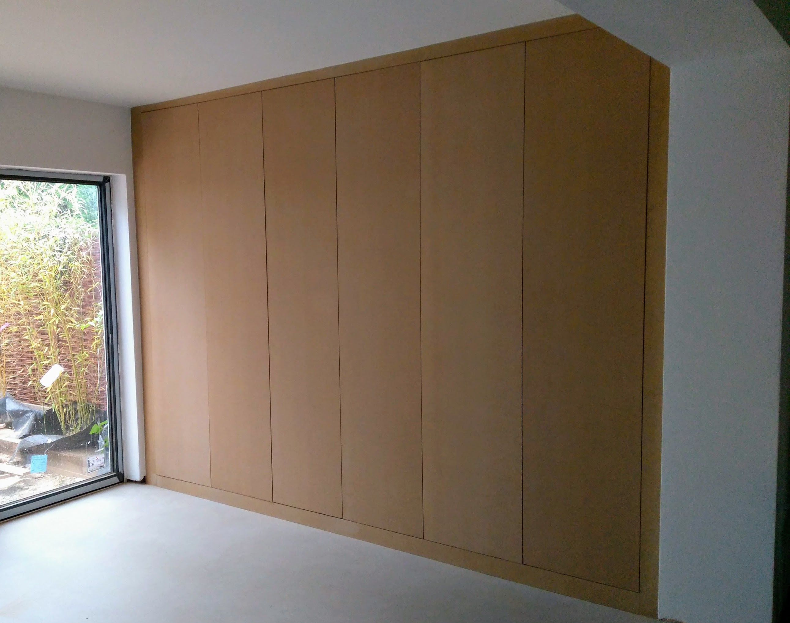 Lounge cupboards (MDF - pre-painted)