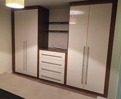 Wardrobes plus dressing table