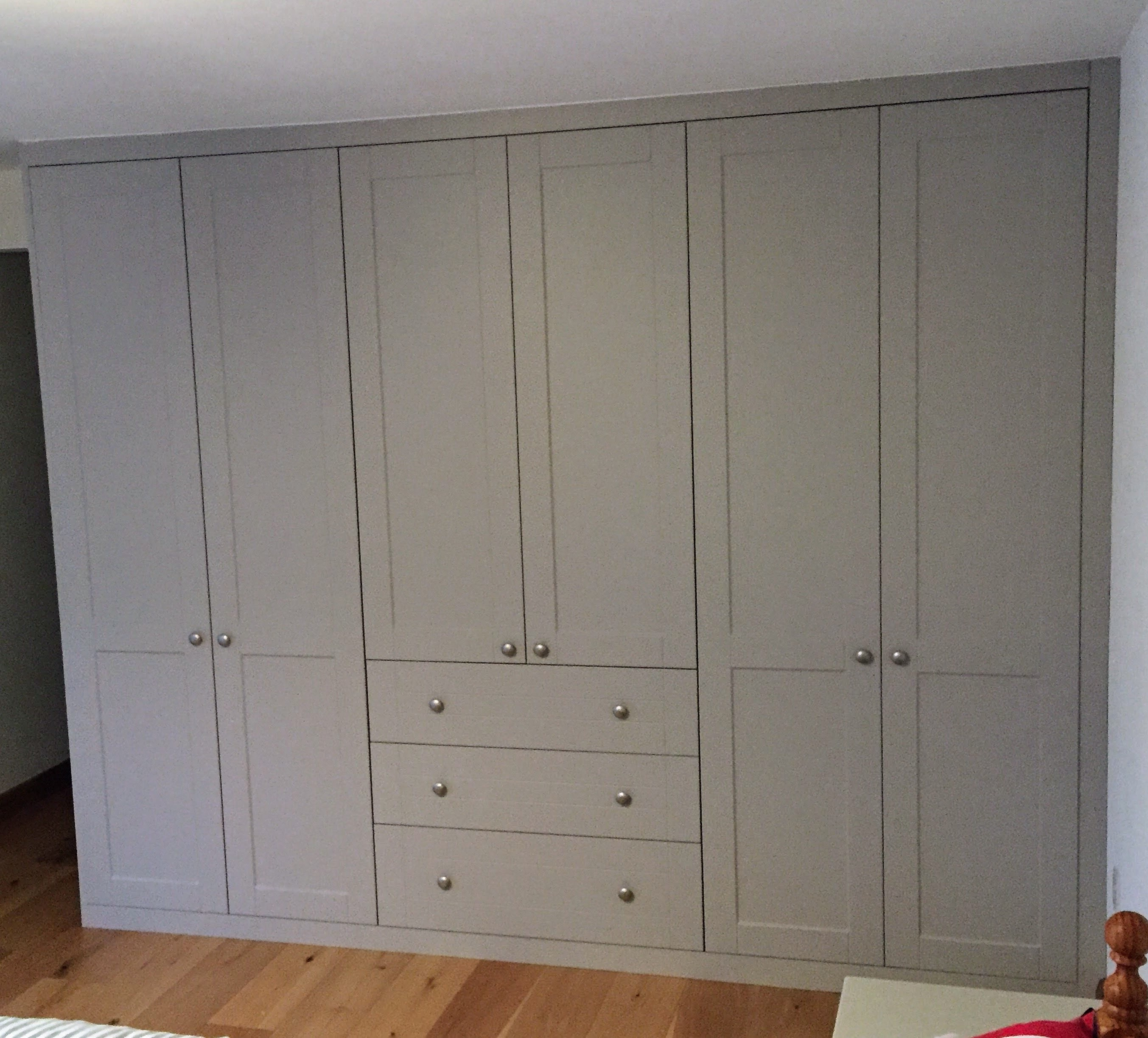 Wardrobe, drawers