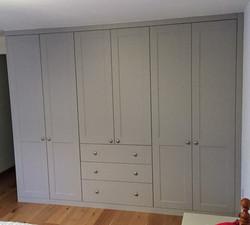 Wardrobe, drawers