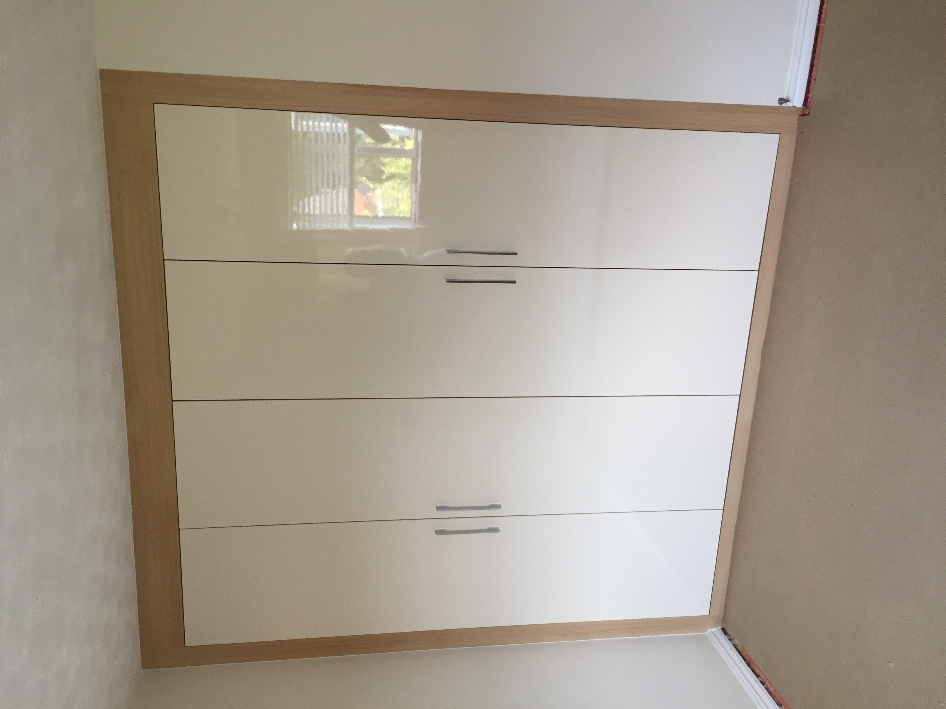 Wardrobes (high gloss doors)