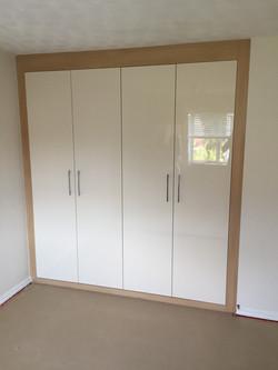 Wardrobes (high gloss doors)