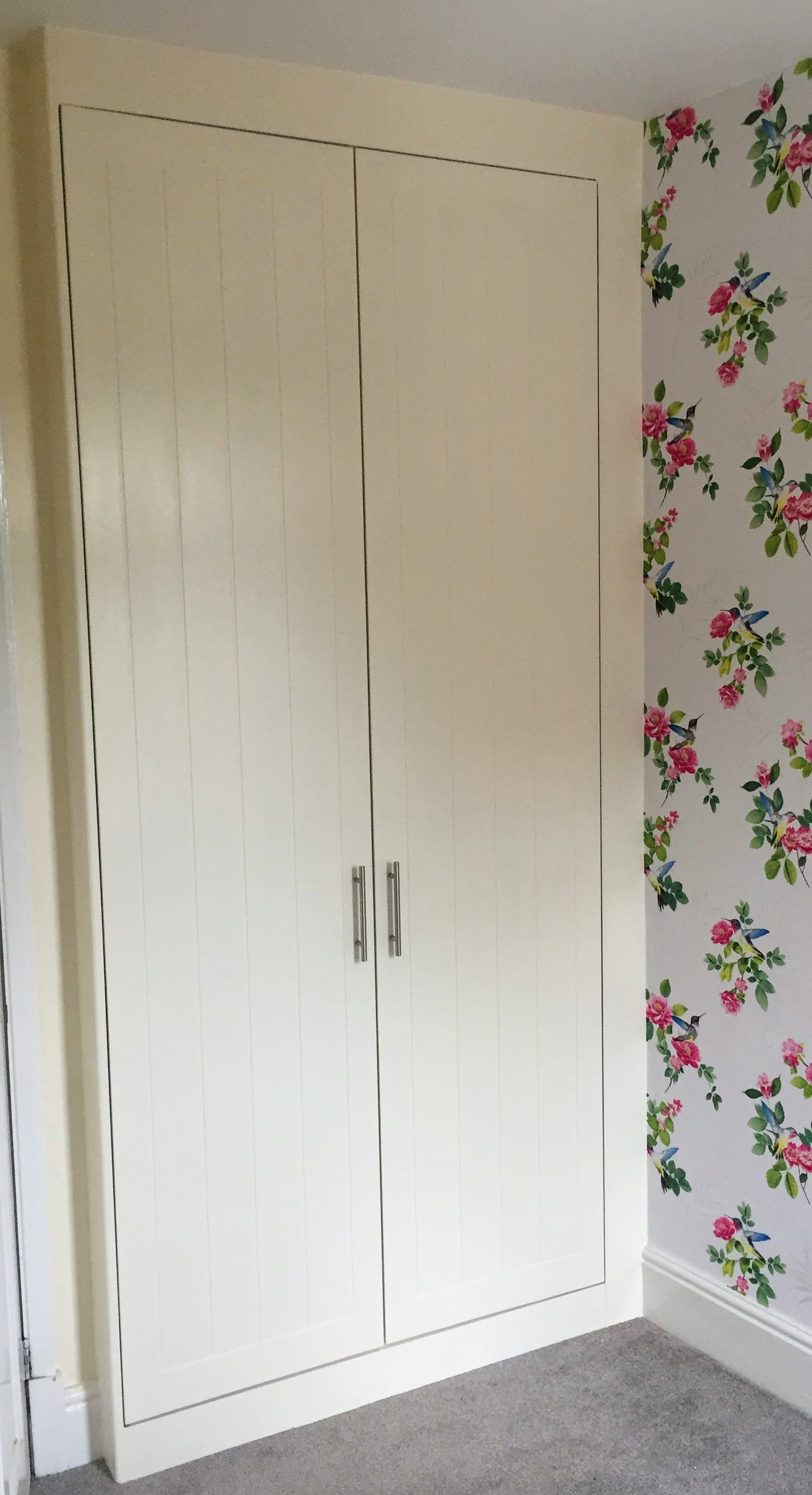 Wardrobes (bedroom alcove)