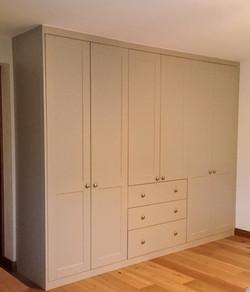 Wardrobes, drawers