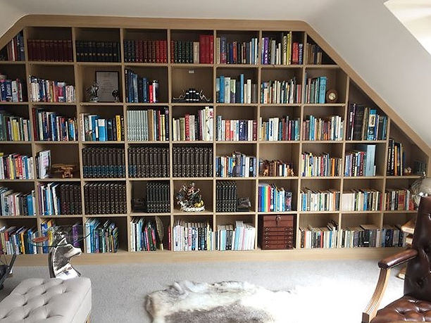 Fitted Made-to-Measure Bookcase Leicester