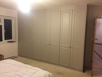 Fitted bedroom wardrobe furniture Leicester