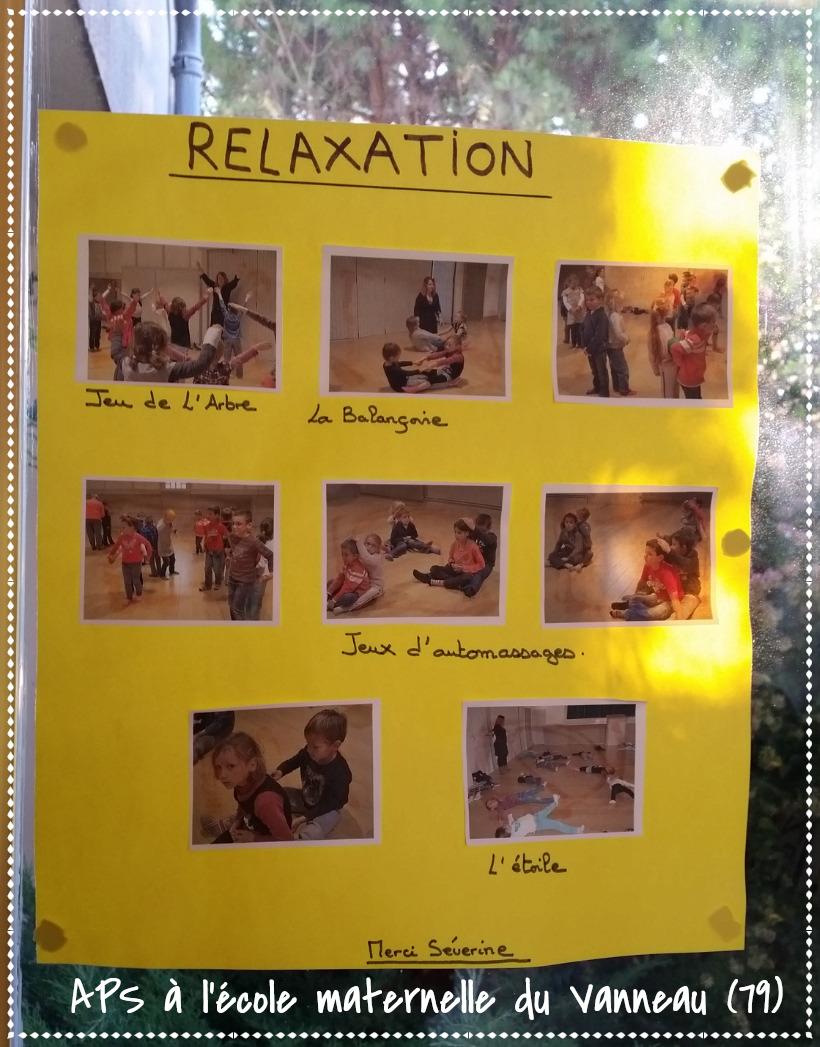 Séances de relaxation en maternelle