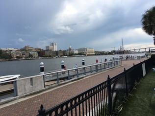 575.8 StM - Savannah City Docks, GA