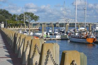 536 StM -Beaufort, SC Waterfront Park Day Dock