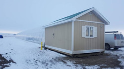 Green house utility shack