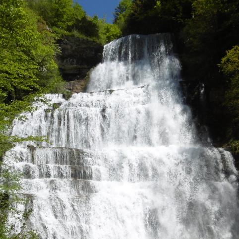 cascade de l'Eventail  ( H=65m )