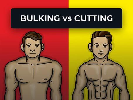 BULKING vs CUTTING