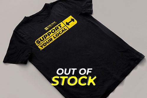 T-Shirt #supportyourlocalbox