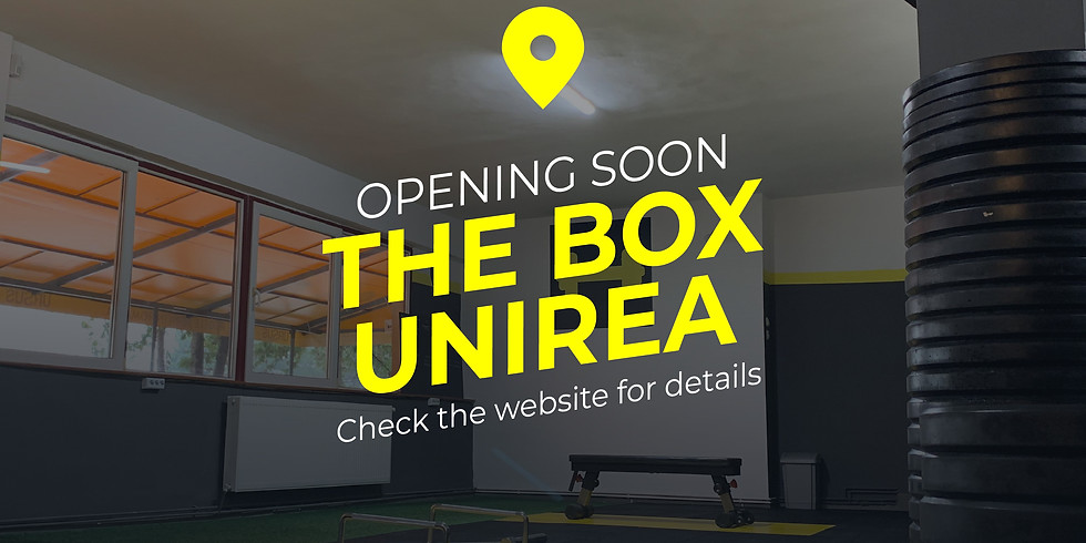 Join The Box - Barbell Club @BS Unirea