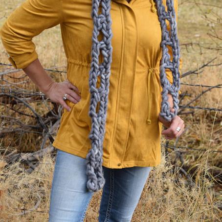 Ideas for using our Jumbo Core Spun Wool Yarn