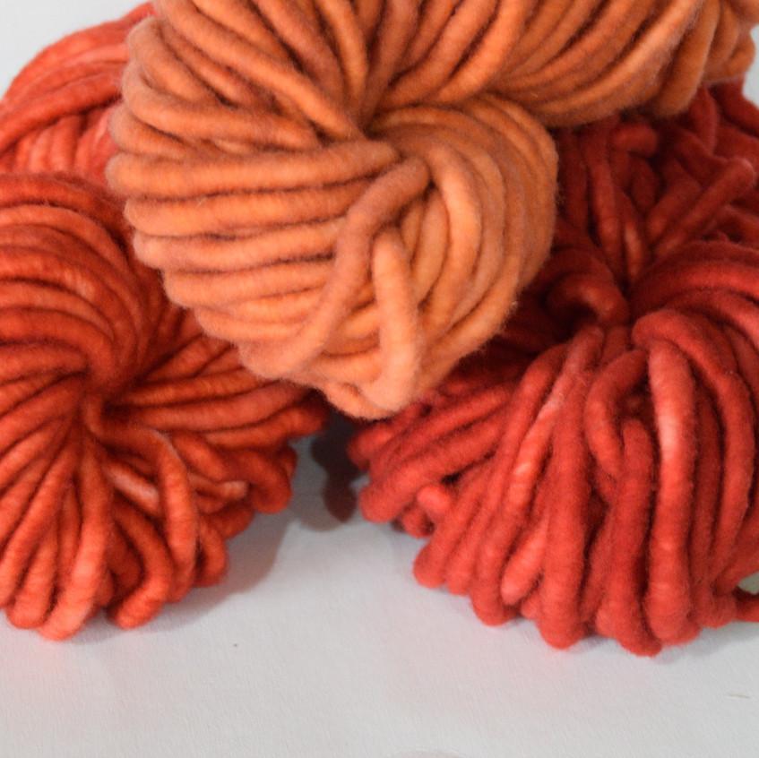 Jumbo Core Spun Wool Yarn