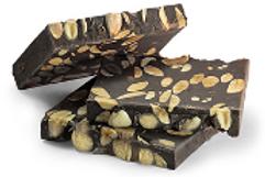 TURRON: chocolate, almonds and stevia