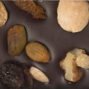CHOCOLATE NEGRO CON FRUTOS SECOS Y ALBARICOQUE