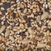 DARK CHOCOLATE: sesame, sunflower seeds and maldon salt