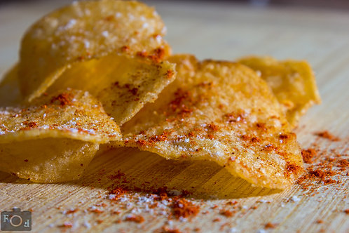 CRISPS WITH OLIVE OIL AND HIMALAYAN PINK SALT