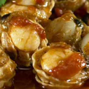 GALICIAN SCALLOPS IN SCALLOP SAUCE