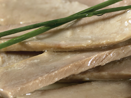 FILLETS OF TUNA BELLY IN OLIVE OIL
