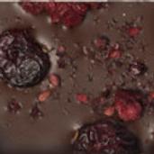 CHOCOLATE CON ARANDANOS Y MORAS