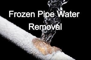 Frozen Pipe Water Damage Eau Claire, Flooded Apartment Cleanup Eau Claire, Flood Remediation Eau Claire, Commercial Water Damage Eau Claire