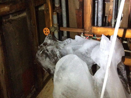 Eau Claire Frozen Pipe Water Removal