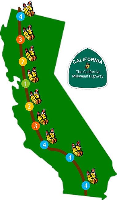The California Milkweed Highway