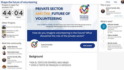 Reimagining Volunteering