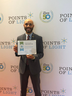Service Unites Civic 50 Certificate