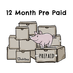 OinkBox 12 Month Prepaid Subscription