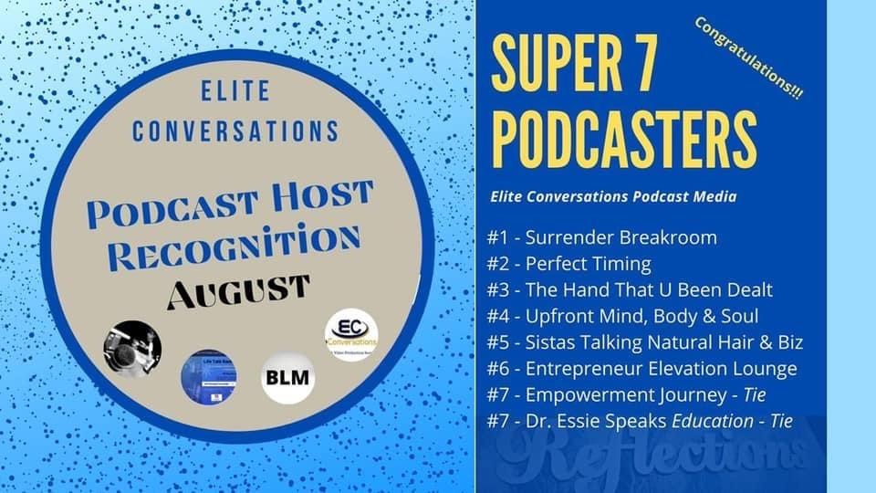 Podcast Host Recognition August
