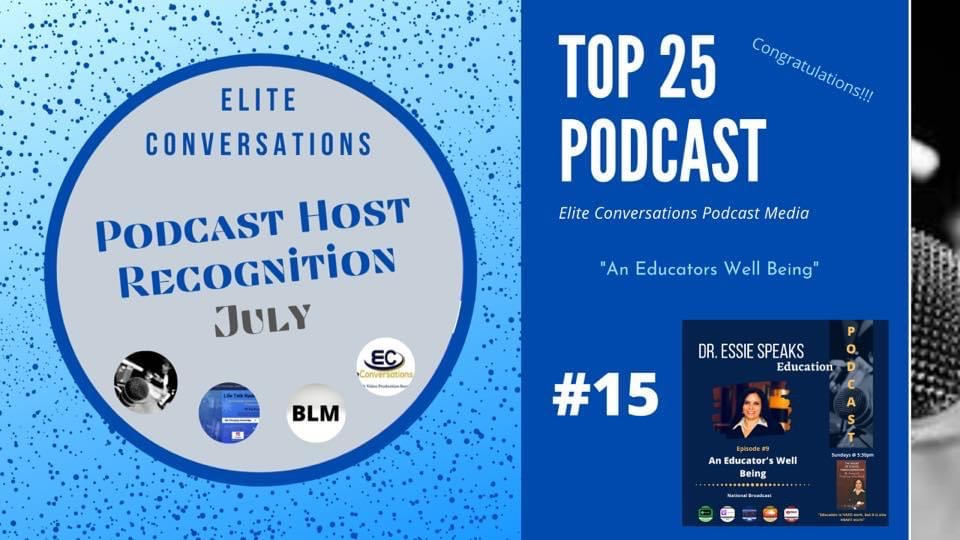 Podcast Host Recognition July