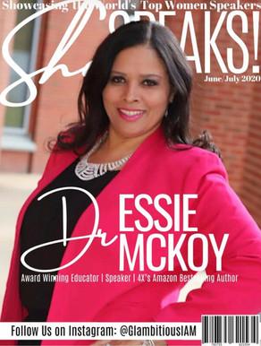 Dr. Essie McKoy Glambitiousiam Magazine