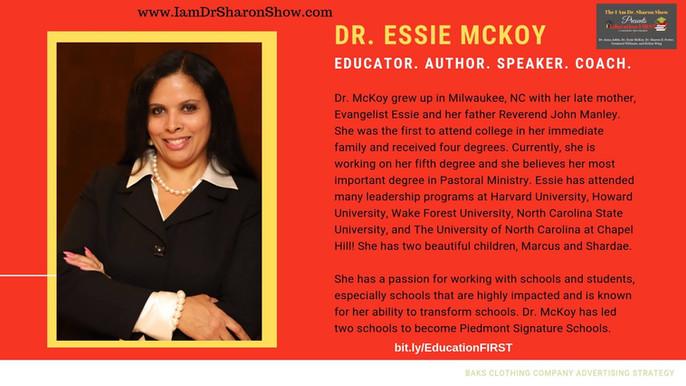 Essie McKoy on Dr. Sharon Show Spotlight