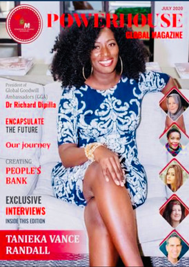Featured in Powerhouse Global Magazine, July 2020
