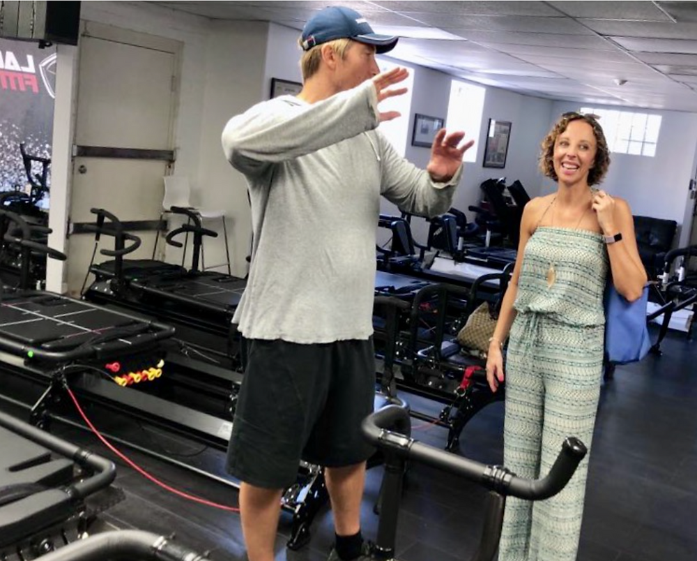 Love Lagree owner Lorraine Jenkins chats with Sebastian Lagree, the founder of the Lagree Fitness method.