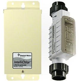 salt-water-swimming-pool-chlorine-generator-pentair-intellichlor-install-shop-store-scottsdale-phoenix-az