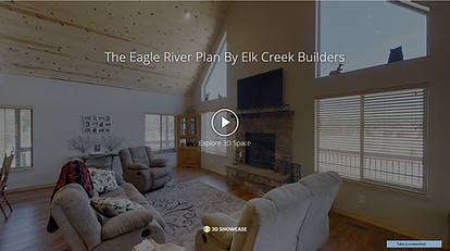 Eagle River Model Elk Creek Builders Capture Media, Inc Matterport Scan 3-D