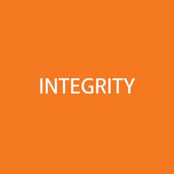 Integrity OrangeBG&WhiteFONT