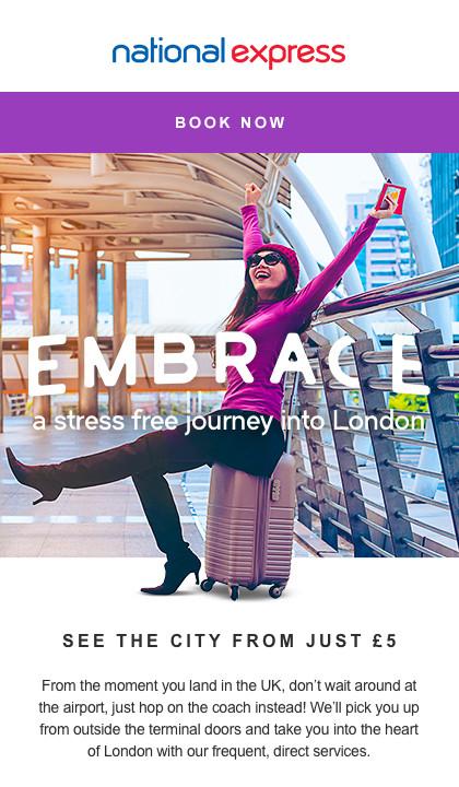 Embrace Your Next Getaway | National Express