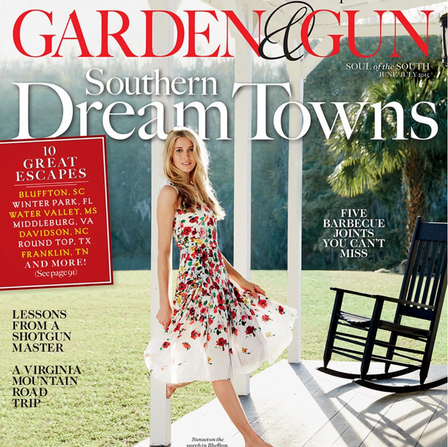 2015 Jun-July: Garden & Gun