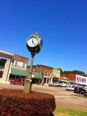 Railroad Park Clock