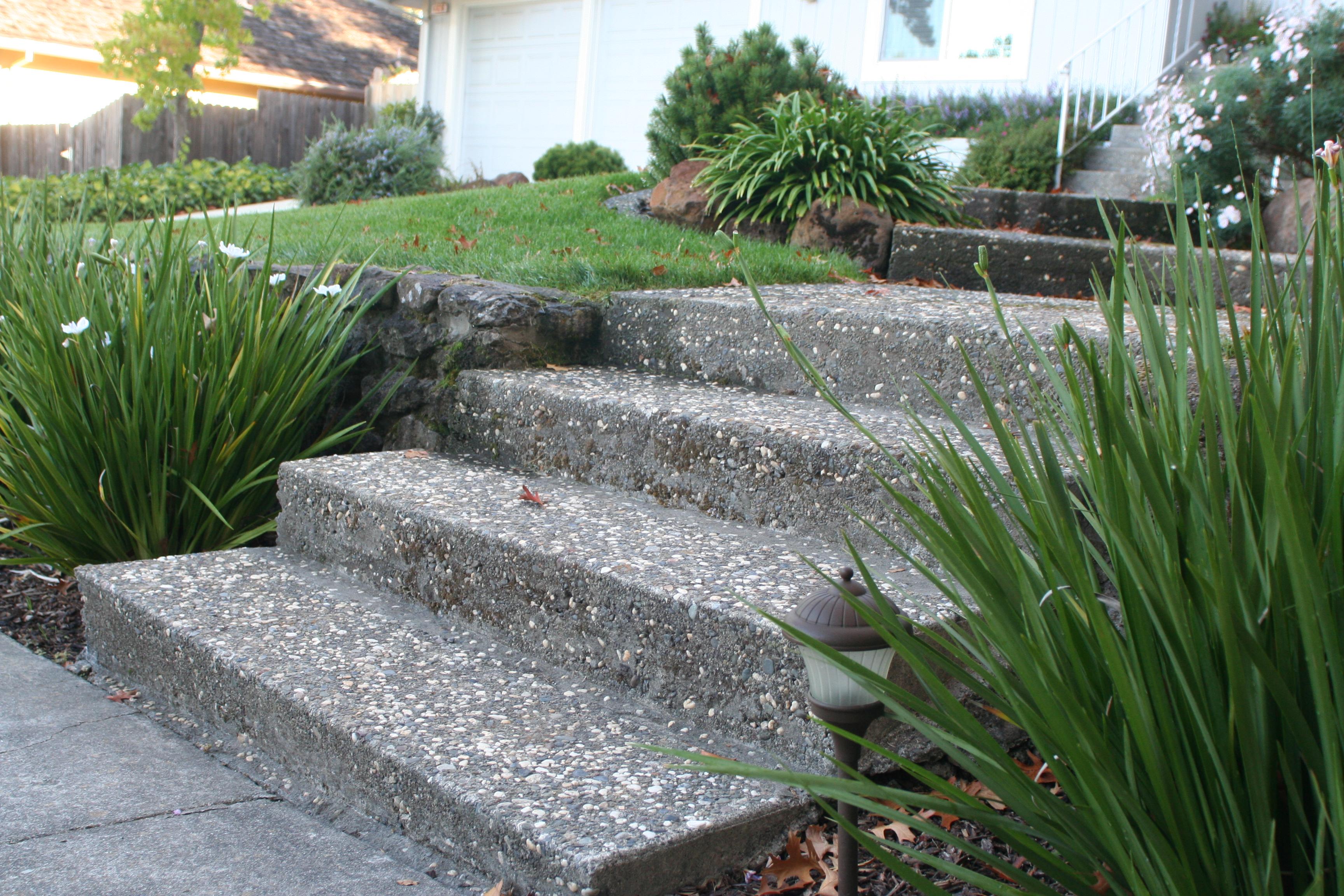 Pebble steps