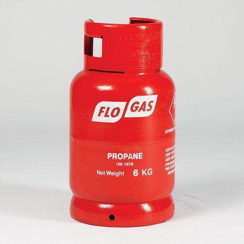 6 kg Propane Gas including deposit